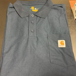 カーハート(carhartt)のカーハート ポロシャツ 紺 2XL(ポロシャツ)