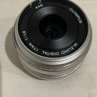 OLYMPUS - オリンパス 単焦点レンズ 17mm f1.8 シルバー