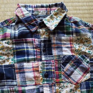 ティーケー(TK)の140 T.K.SAPKID ボタンシャツ(Tシャツ/カットソー)