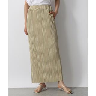 ローリーズファーム(LOWRYS FARM)のLOWRYS FARM シャイニープリーツタイトスカート(ロングスカート)