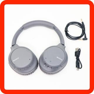 ソニー(SONY)の美品 SONY ワイヤレスノイズキャンセリングヘッドホン WH-CH710N(ヘッドフォン/イヤフォン)