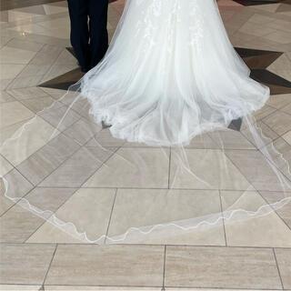 タカミ(TAKAMI)のロングベール 280cm  約3m(ヘッドドレス/ドレス)