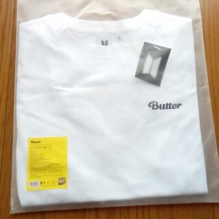 ボウダンショウネンダン(防弾少年団(BTS))のBTS  butter  公式Tシャツ Lサイズ(Tシャツ/カットソー(半袖/袖なし))