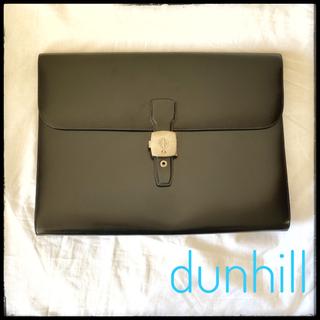 ダンヒル(Dunhill)の☆dunhill☆ダンヒル ☆ロンドンライン ☆セカンドバッグ ☆クラッチバッグ(セカンドバッグ/クラッチバッグ)