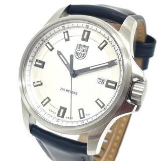 ルミノックス(Luminox)のルミノックス 1830 デイト ドレス フィールド クオーツ メンズ シルバー(腕時計(アナログ))