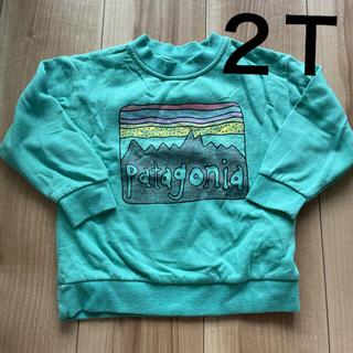 パタゴニア(patagonia)のパタゴニア トレーナー 2T 裏起毛(Tシャツ/カットソー)