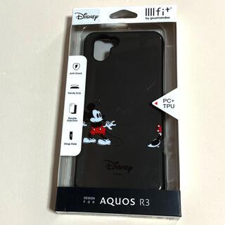 ミッキーマウス - ディズニー イーフィットAQUOS R3対応ハイブリッドケース ミッキーマウス