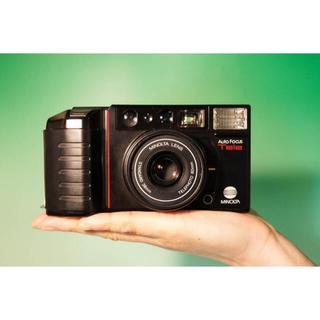 コニカミノルタ(KONICA MINOLTA)の【完動品】Minolta AF-tele  人気の2単焦点 フィルムカメラ(フィルムカメラ)