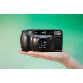 コニカミノルタ(KONICA MINOLTA)の【完動品】Minolta Mac 35  単焦点コンパクトカメラ(フィルムカメラ)