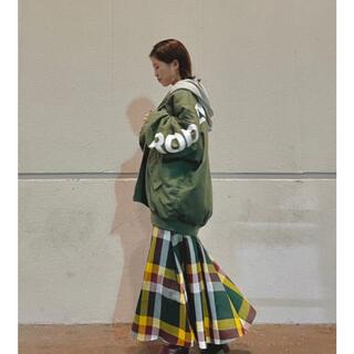 ロデオクラウンズワイドボウル(RODEO CROWNS WIDE BOWL)のRODEOCROWN  ビックパターンマキシスカート  新品(ロングスカート)