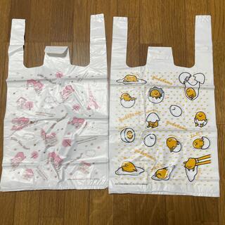 サンリオ(サンリオ)の未使用☆キキララ&ぐでたま ポリ袋 手提げ付きビニール袋 16枚(日用品/生活雑貨)