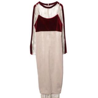 アメリヴィンテージ(Ameri VINTAGE)のAmeri  vintage 4WAY DIVERSITY DRESS(ひざ丈ワンピース)