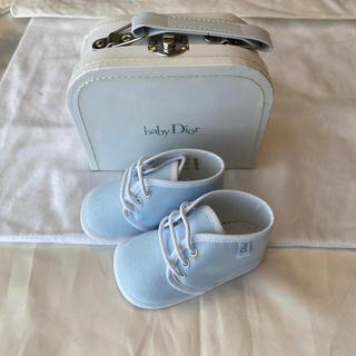 ベビーディオール(baby Dior)のベビーディオール ファーストシューズ 18(スニーカー)