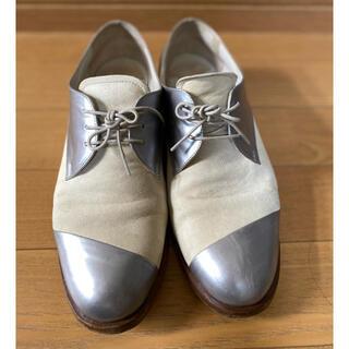 ミュウミュウ(miumiu)のmiumiu ミュウミュウ レザー紐靴 サイズ37 2/1(ローファー/革靴)