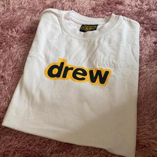 drew house tシャツ ピンク Sサイズ ジャスティンビーバー(Tシャツ/カットソー(半袖/袖なし))