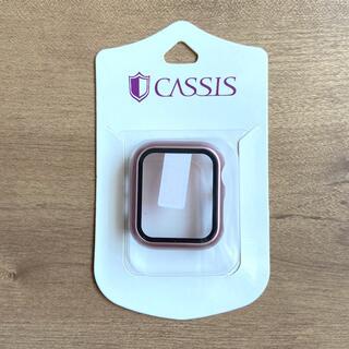アップルウォッチ(Apple Watch)のCASSIS  Apple Watch 用 ハードケース40mm ローズゴールド(モバイルケース/カバー)