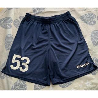 Kappa - Kappa  番号付 サッカーパンツ Lサイズ ネイビー