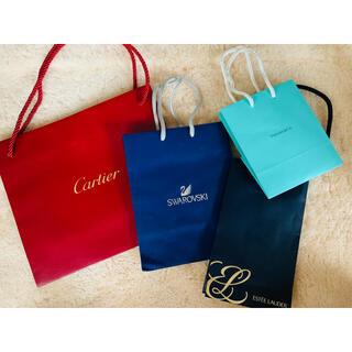 カルティエ(Cartier)のブランドショップ袋セット(ショップ袋)