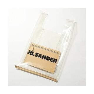 ジルサンダー(Jil Sander)の特価 ★ JIL SANDER PVC クリア ロゴ トート バッグ(トートバッグ)