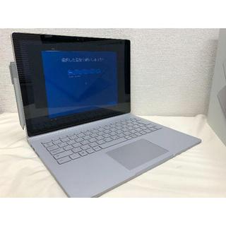 マイクロソフト(Microsoft)のMicrosoft SurfaceBook Corei7/512GB/16GB(ノートPC)