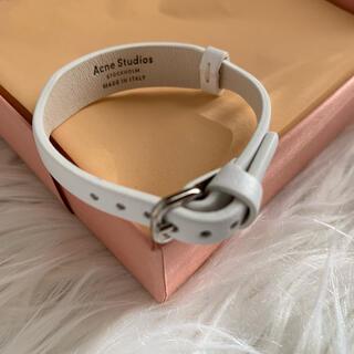 アクネ(ACNE)の新品  Acne studios bracelet アクネ レザー ブレスレット(ブレスレット/バングル)