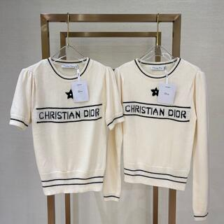 ディオール(Dior)の可愛い DIOR カシミヤ ウールの ニットセーター  2点セット(ニット/セーター)