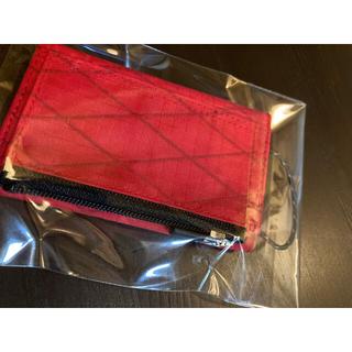 ザノースフェイス(THE NORTH FACE)のミニマライト プレイウォレット レッド(折り財布)