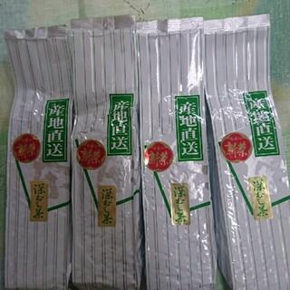 静岡県産 深蒸し茶 800g     200g4袋静岡茶(茶)