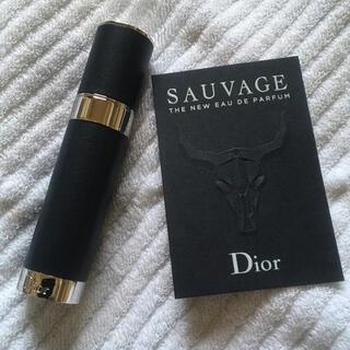 ディオール(Dior)のディオール オム 香水 入れ ソヴァージュ トラベルスプレー アトマイザー (その他)