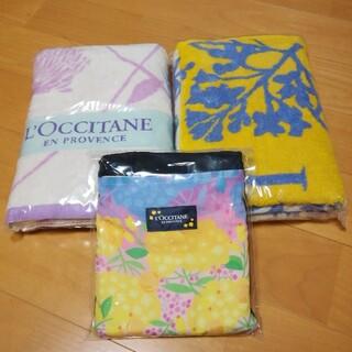 ロクシタン(L'OCCITANE)のロクシタン バスタオル2枚&キャンバスバッグ 3点セット(その他)