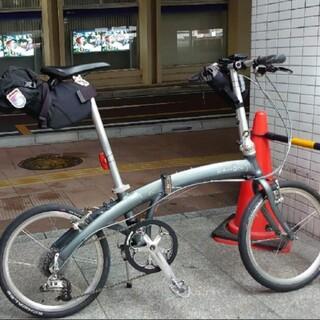 ダホン(DAHON)の福岡 dahon mu sl 軽量な折りたたみ自転車 定価約18万(自転車本体)