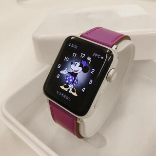 アップルウォッチ(Apple Watch)のApple Watch series2 42mm  アップルウォッチ シルバー(腕時計(デジタル))