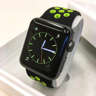アップルウォッチ(Apple Watch)のApple Watch series2 グレー 38mm アップルウォッチ(その他)
