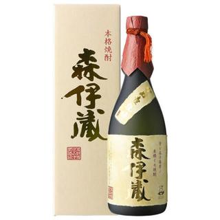 タカシマヤ(髙島屋)の森伊蔵 高島屋購入 720ml  9月購入品 金ラベル(焼酎)
