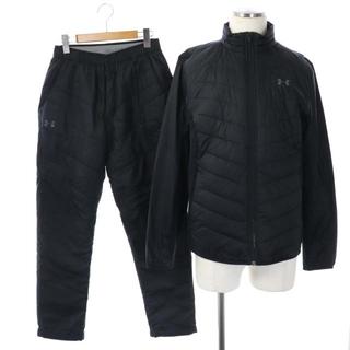 アンダーアーマー(UNDER ARMOUR)のアンダーアーマー セットアップ 中綿ジャケット パンツ テーパード M 黒(その他)