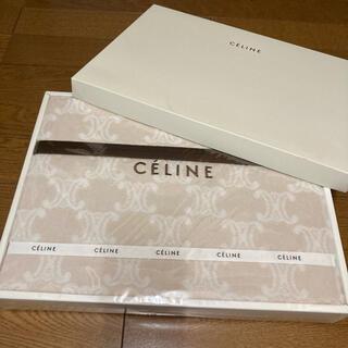 セリーヌ(celine)のセリーヌ CELINE  膝掛け 新品未使用(毛布)