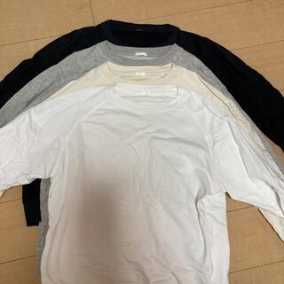 コモリ(COMOLI)の美品 comoli インレイ起毛 長袖クルー 4色セット 1(スウェット)