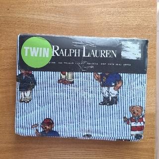 ラルフローレン(Ralph Lauren)のラルフローレン ポロベア シーツ 新品未開封(シーツ/カバー)