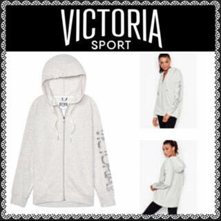 ヴィクトリアズシークレット(Victoria's Secret)のVictoria Sport Zip Hoodie  Sサイズ(パーカー)