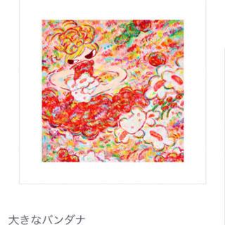 ロッカクアヤコ 個展「魔法の手」バンダナ (ポスター)