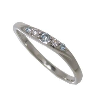 テイクアップ(TAKE-UP)のテイクアップ リング・指輪  K10WG ダイヤモンド(トリートメ(リング(指輪))
