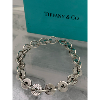 Tiffany & Co. - オールドティファニー TIFFANY 1837 サークル ドロップ ブレスレット