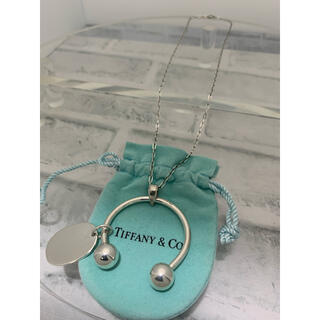 ティファニー(Tiffany & Co.)のヴィンテージティファニー ラージ サーキュラーバーベル ネックレス カスタム(ネックレス)