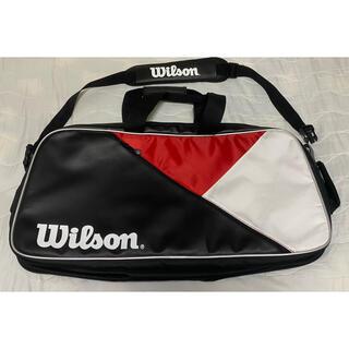 wilson - ウィルソン ラケットバッグ 6本入り レクタングルバッグ