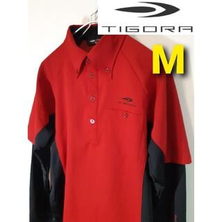 ティゴラ(TIGORA)の【TIGORA】長袖ゴルフウェア/ボタンダウン/アームカバー一体型(ウエア)