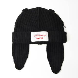 ヴィヴィアンウエストウッド(Vivienne Westwood)のCharlesJeffreyLOVERBOYCHUNKYRABBITBEANIE(ニット帽/ビーニー)