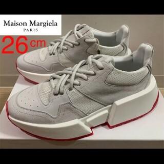 マルタンマルジェラ(Maison Martin Margiela)の新品未使用❗️MM6 Maison Margiela ランナーレザースニーカー(スニーカー)