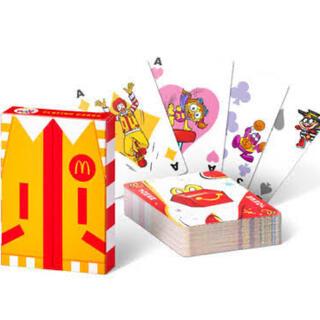 マクドナルド(マクドナルド)の【McDonald's】ハッピーセットおもちゃ(トランプ)(トランプ/UNO)