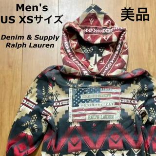 Denim & Supply Ralph Lauren - 【美品】Denim & Supply パーカー ビーコン柄