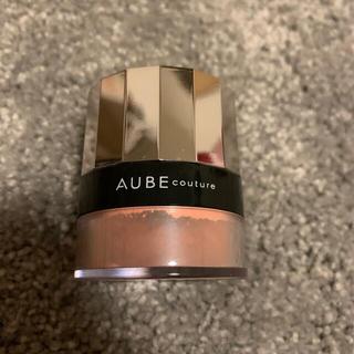 オーブクチュール(AUBE couture)のAUBE couture デザイニングチーク 412ピーチ(チーク)